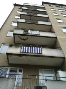 Balkong- och fasadrenovering - Hässelby